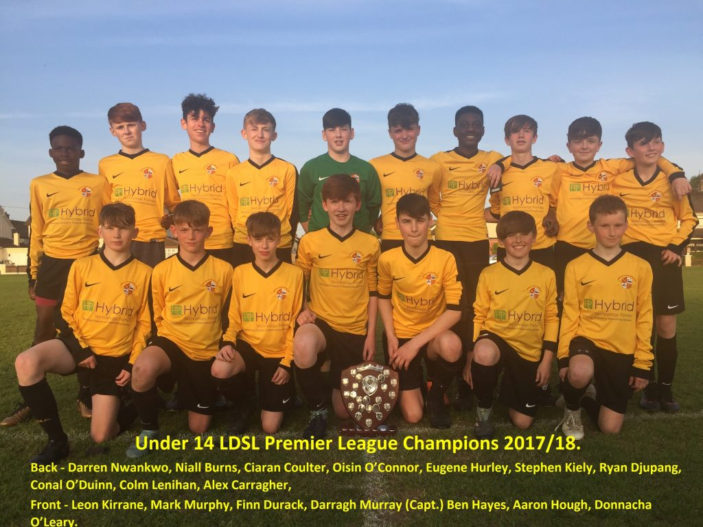 Ger Ryan Youth Cup Winners 2017/2018