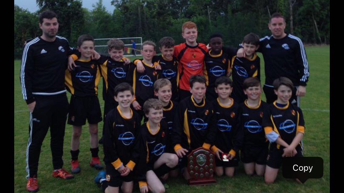 Under 12A Team - LDSL Under 12 Premier League Winners