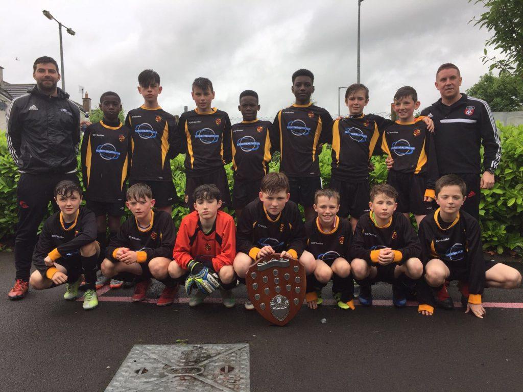 Under 13A Team - LDSL Under 13 Premier League Winners