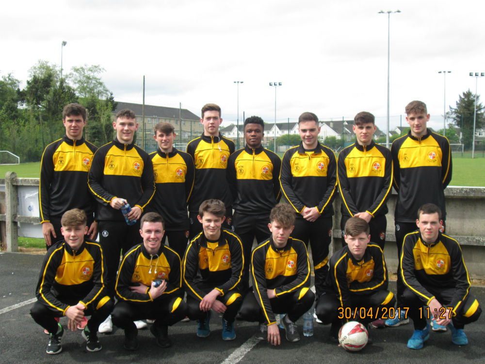 Under 18A Team - Runners up in the FAI Youth Cup