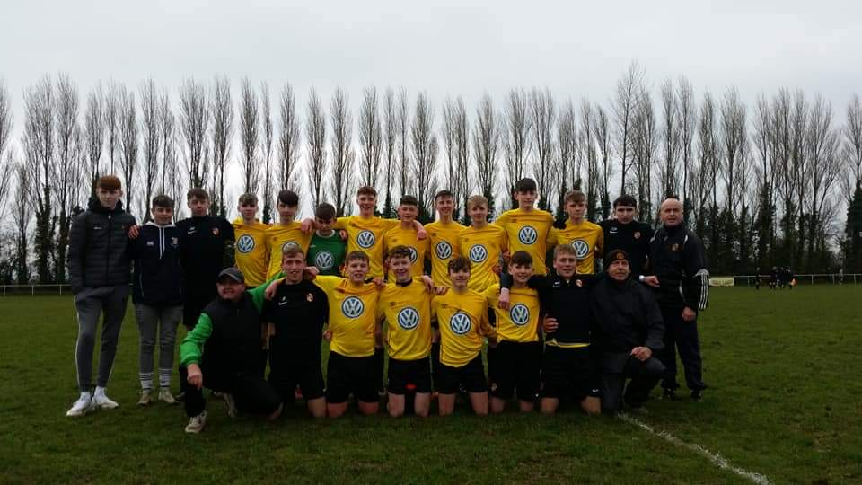 2018_19 U16_Division_One_Cup_Winners