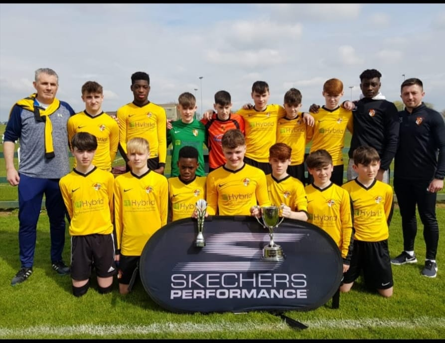 2018_2019 U15 South West Region Cup Winners_Managers_Niall Byrnes_Chris Collop