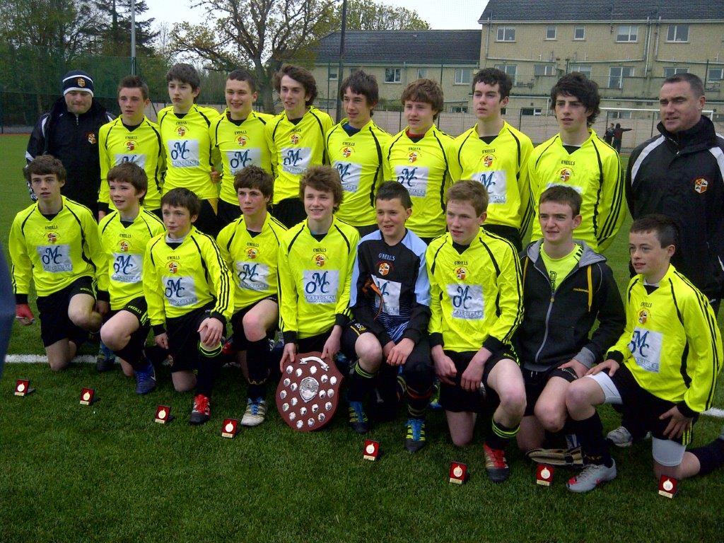 Under 15A Team Premier League Winners