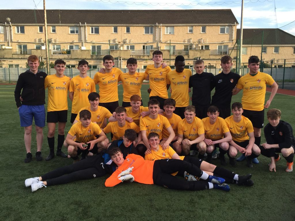 Under 18 Division One League Champions