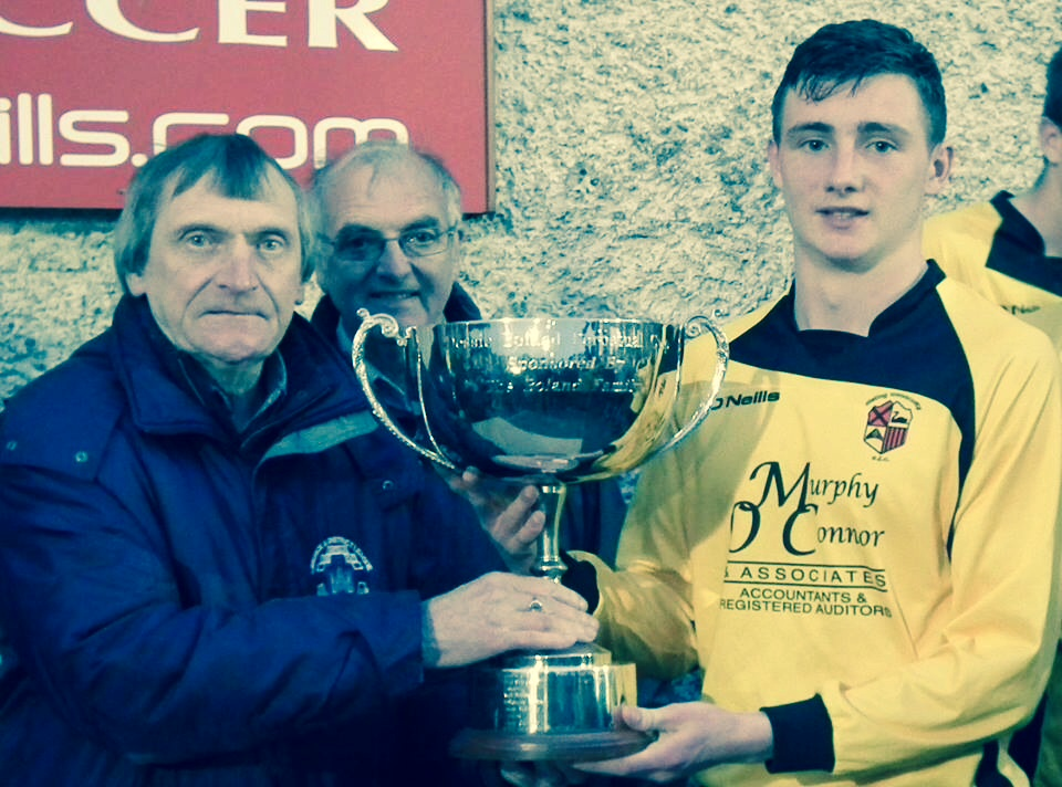 Under 18 Division One Winners with Evan O'Connor